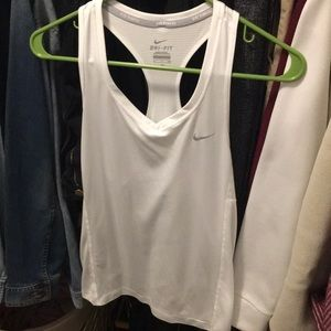lightly worn nike dri fit athletic tank top